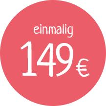 einmalig 149€